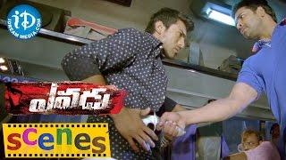Yevadu Movie Scenes || Ram Charan Bus Scene || Kajal Aggarwal