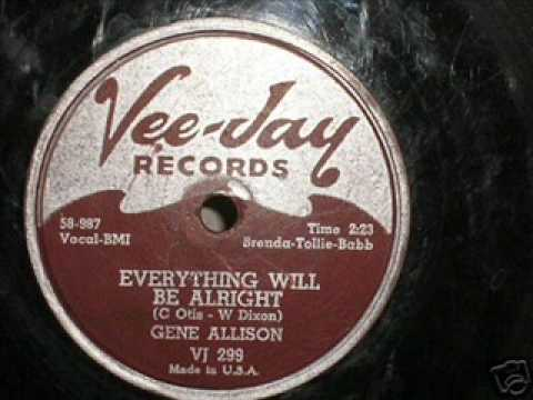 GENE ALLISON  Everything Will Be Alright  1958