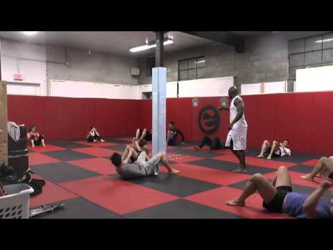MMA Bodyweight Workout:  Conditioning for Fighters Class #5 Image 1