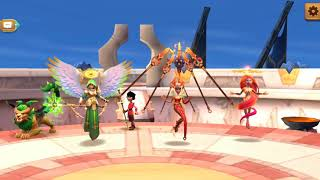 MMEG. My Cleave Team with Flaming Asura in Arena! #InstaKill