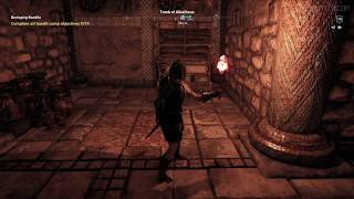 AC Odyssey (Project Stream) - not-so-hidden exit in the Tomb of Alkathous