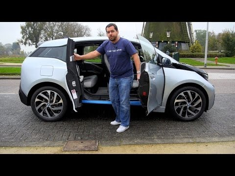 (ENG) BMW i3 - First Drive. Test Drive and Review