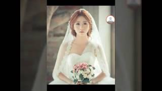 Ghép mặt vào ảnh cô dâu bằng picsArt