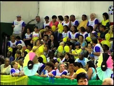 Foram abertas hoje, 26, as Olimpíadas do Idoso em Uberlândia