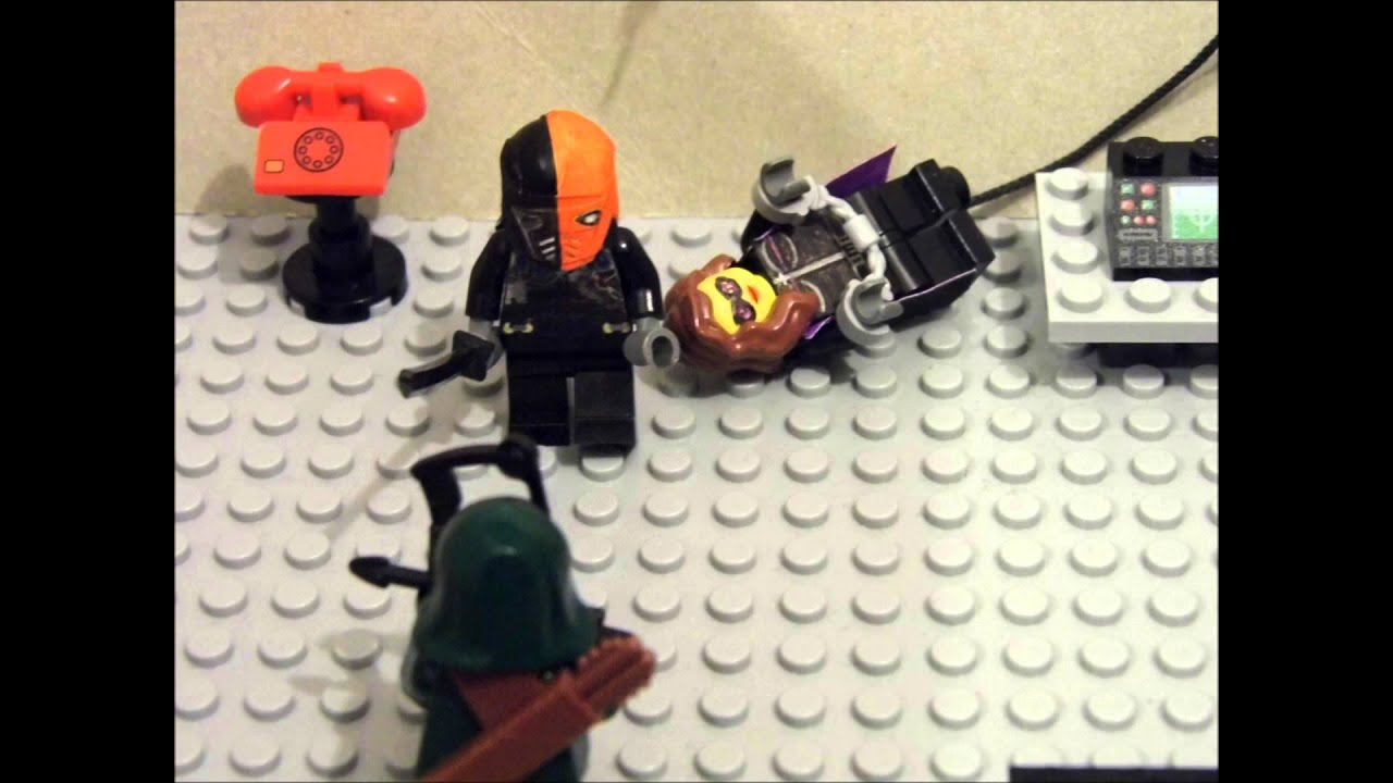 how to make a lego deathstroke