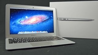 New Apple MacBook Air 11 (2012):  Unboxing and Tour
