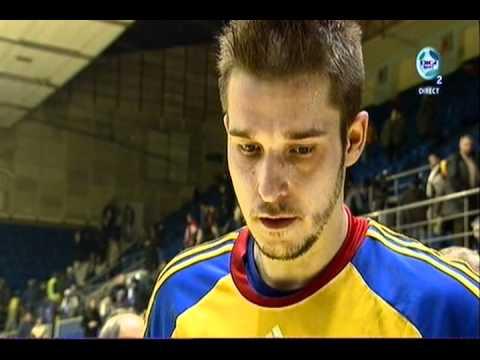 Handball Romania - Belarus 25-22 Declaratii Popescu si Csepreghi la Digi Sport.asf