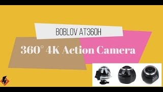 Boblov 360° Wifi 4K Action VR Camera UnBoxing & Review | Hindi