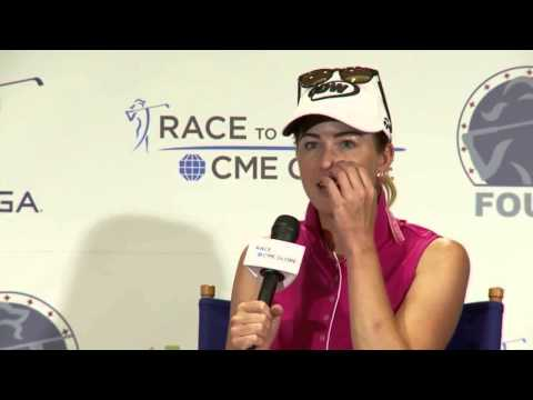 Paula Creamer Pre-Tournament Interview from the JTBC LPGA Founders Cup