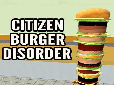 CITIZEN BURGER DISORDER (Mondo Burger Simulator)