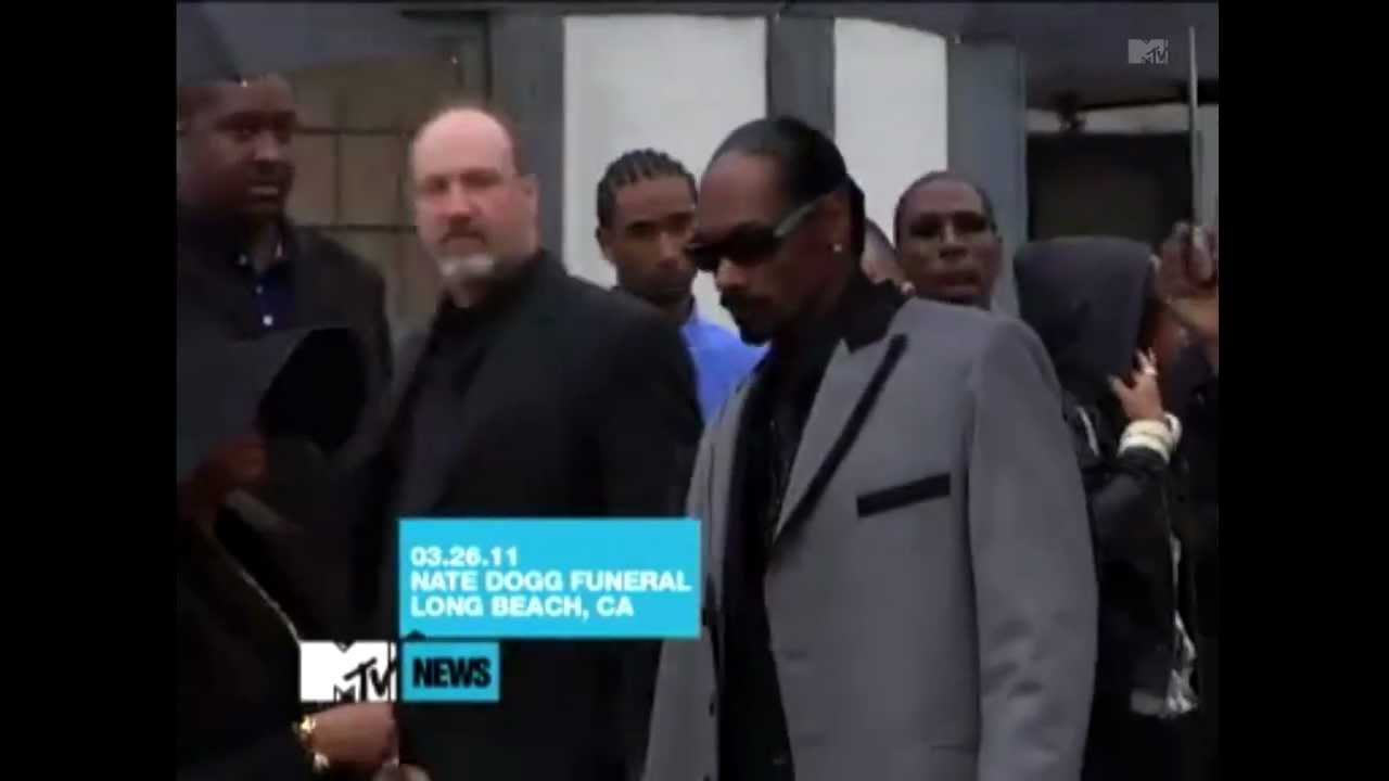 Snoop Dogg,Warren G,Dr.Dre and Daz Arrive To Nate Dogg's ...