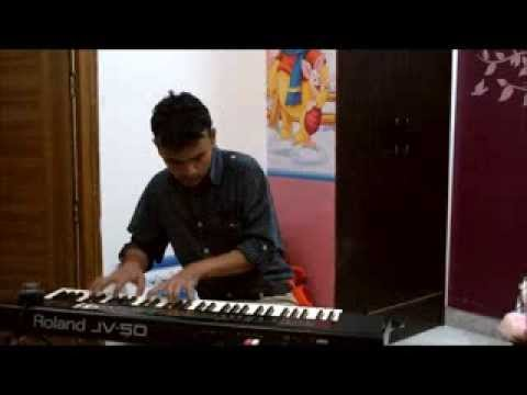 yeh kahan aa gaye hum  piano version on Roland JV 50 by Sandeep...