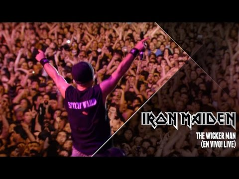 Iron Maiden - The Wicker Man Live