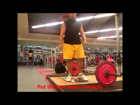 Deadlift Rules in Powerlifting Image 1