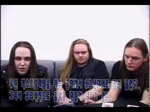 Children of Bodom interview in South Korea
