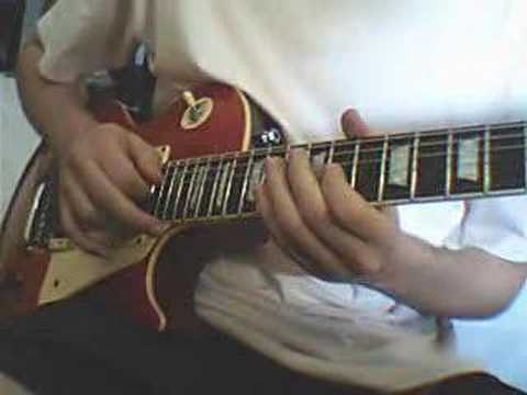 Mega Man 2 Dr. Wily´s Castle Theme on the guitar.