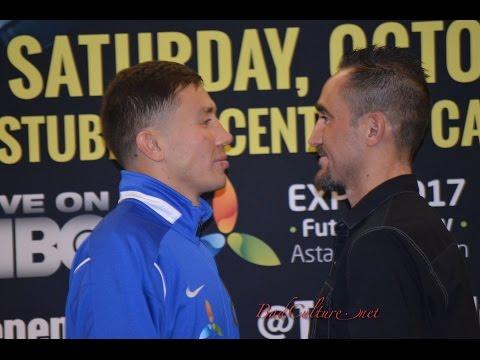 GGG Gennady Golovkin vs Marco Rubio FACE OFF