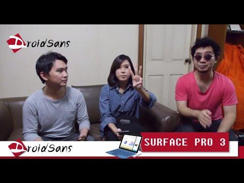 DroidSans Weekly+ [EP14] สรุปข้อดีข้อเสีย Surface Pro 3 แท็บเล็ตลูกครึ่งจาก Microsoft
