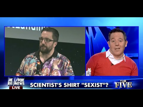 Was comet scientist 39 s shirt sexist greg gutfeld 11 17 for Matt taylor shirt buy