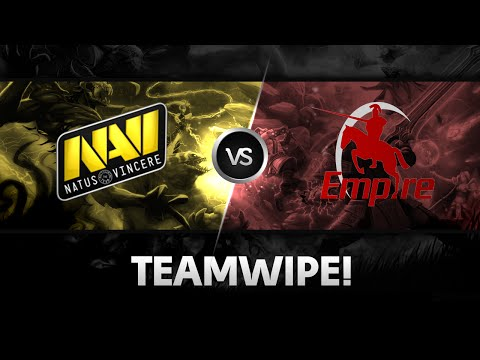 Teamwipe by Na`Vi vs Empire @ D2CL S4 Lan-Finals