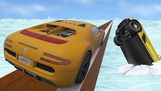 โคตรระห่ำ! ซิ่งฝ่าดงพายุหิมะถล่ม(ออกหนีกันหมด?) (GTA 5 Online)