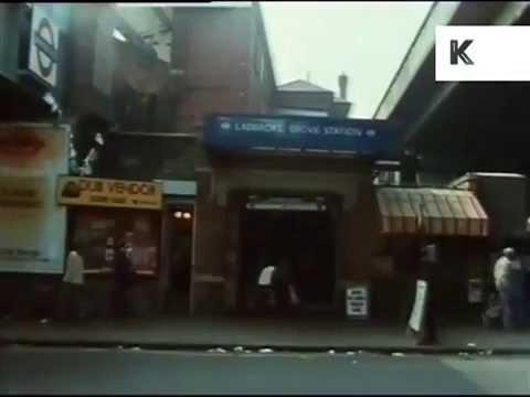 1980s Ladbroke Grove, gritty West London streets