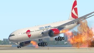 Most Horrible Emergency Landing Ever By Training Pilots | X-Plane 11