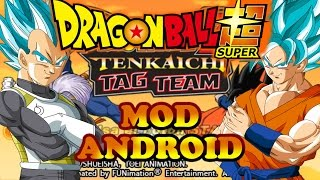 Dragon Ball Super MOD ANDROID (Dragon Ball Z Tenkaichi Tag Team)