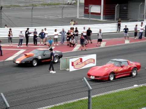 tetsuya terashima  アメフェス2011 ドラッグレース コルベット DRAG