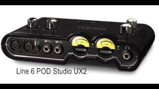 Line 6 UX2 vs Scarlett 2i2 Guitar test Clean