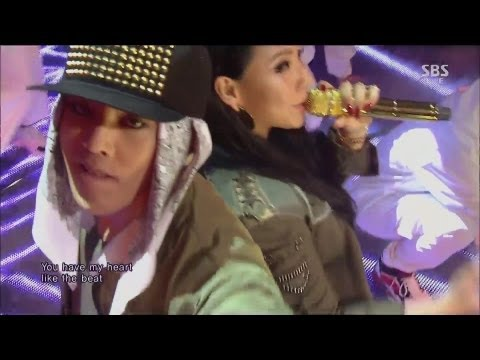 G-dragon 0929 sbs Inkigayo r.o.d (feat. Cl) + 삐딱하게 no.1 Of The Week video