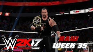 wwe2k Universe Mode I The Reality Era (Raw Week 35)