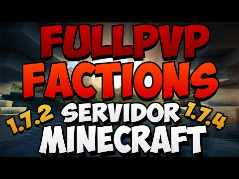 Minecraft Server PvP Factions 1.7.2 - 1.7.4 | No Premium - No hamachi - 24/7