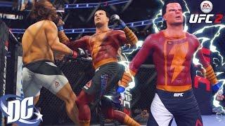 SHAZAM! Captain Marvel Is DANGEROUS! EA Sports UFC 2 Ultimate Team Gameplay