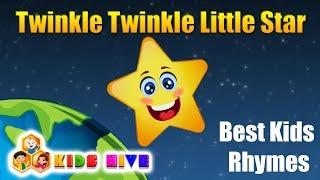 Twinkle Twinkle Little Star | Best English Rhymes of 2019 | Popular kids songs | Kids Hive