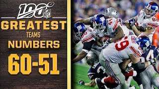 100 Greatest Teams: Numbers 60-51 | NFL 100