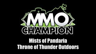 Patch 5.2 - Throne of Thunder Raid Outdoors - Area Preview