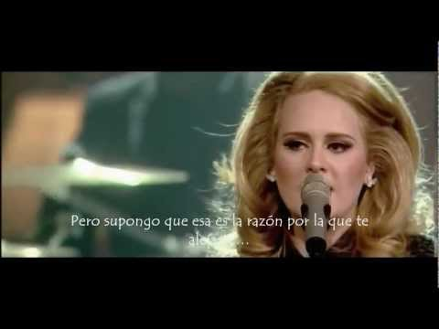 Adele - Rumor Has It (live) (Subtitulada al Español)
