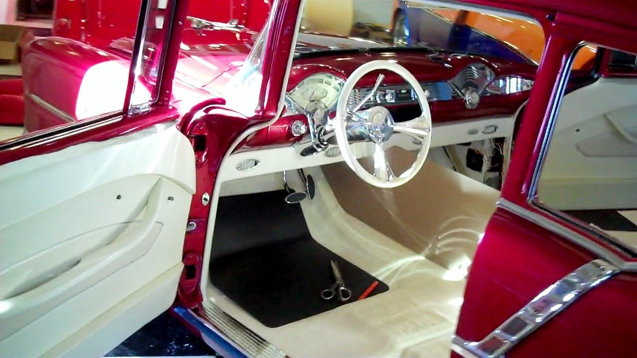 5682_1 Chevy Truck Interior Door Panels