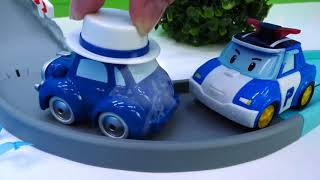 Helfer Autos & Robocar Poli Spielzeug. Spielzeugautos Für Kinder.