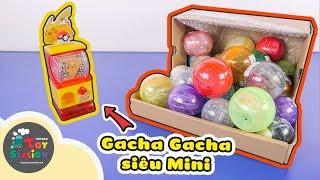 Máy vặn trứng Gachapon siêu mini bên trong quả trứng Gacha ToyStation 358