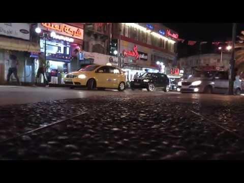 مدينة نابلس الفلسطينية , اجواء المساء 4-5-2014 - Nablus City - Palestine - night life