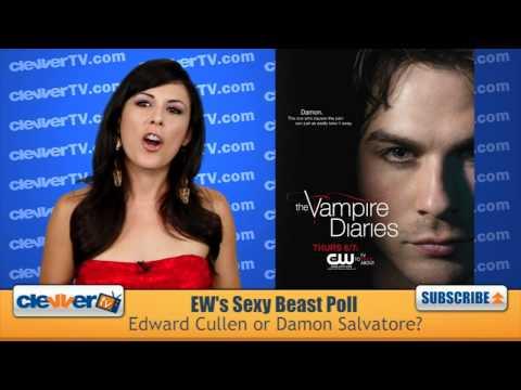 EW Sexy Beast Poll: Edward Cullen vs. Damon Salvatore