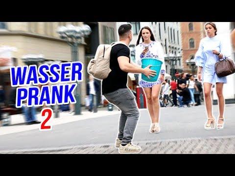 WASSER AUF MENSCHEN PRANK 2!! | Mert Matan
