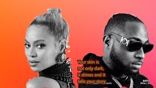 Beyoncé - BROWN SKIN GIRL (audio) (Remix) ft. Davido