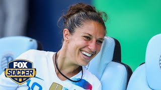 Carli Lloyd's new role on the USWNT | 2018 CONCACAF Women's Championship