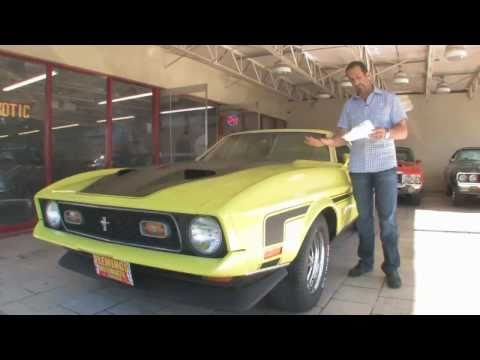 1972 Ford Mustang Mach 1 Tony Flemings Ultimate Garage reviews horsepower ripoff complaints video