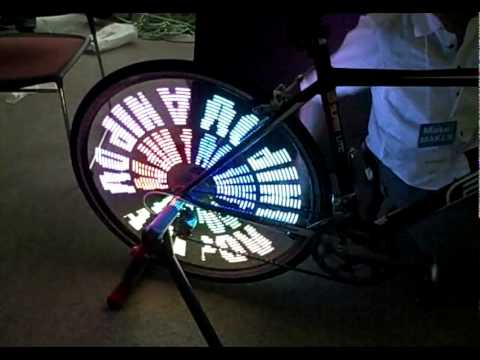 Anipov Project LED bike wheel.mov