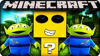 Minecraft - LUCKY BLOCK BOSS CHALLENGE  - ALIENS! (Lucky Block/ Orespawn Mod)