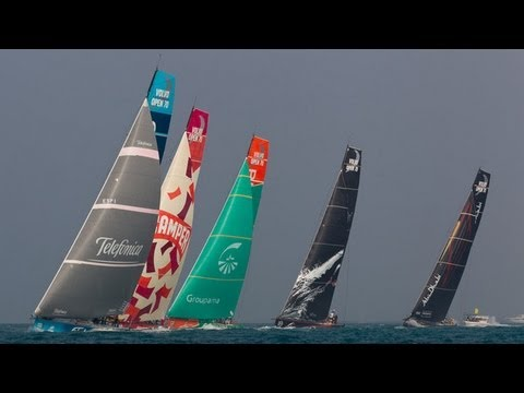 Leg 3: Abu Dhabi Live Leg Start Replay | Volvo Ocean Race 20